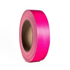 Adam Hall Gaffa tape neon 38mm 25m roze