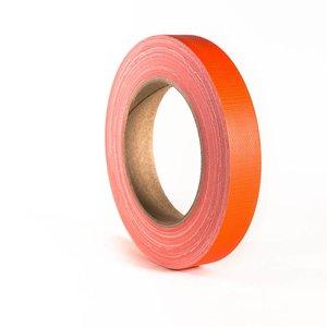 Adam Hall Gaffa tape neon 19mm 25m oranje