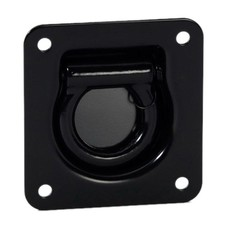 Adam Hall Zwarte D-Ring ophangbeugel