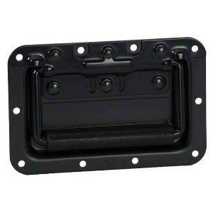 Adam Hall 34082BLK Inbouw handvat normaal zwart 8mm