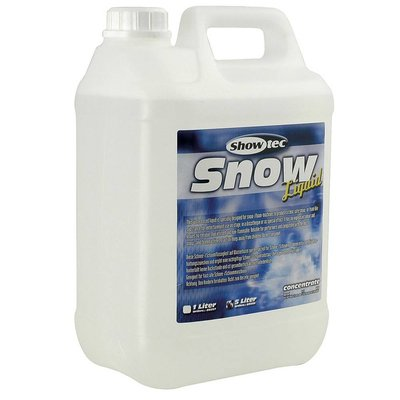 Sneeuwvloeistof en schuimvloeistof