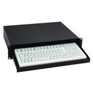 Adam Hall 19 inch rackmount computer keyboard plateau