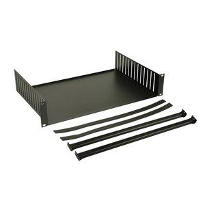 Adam Hall 8757 19 inch rack clamp inlay 2 HE