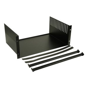 Adam Hall 8758 19 inch rack clamp inlay 3 HE