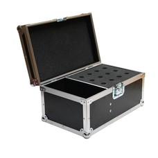 ProDJuser Mic Deluxe flightcase voor 12 microfoons