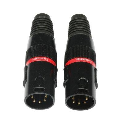 Accu-cable AC-DMXTERM-5/SET DMX terminator 5-pins (2 stuks)