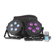 American DJ VPAR PAK lichtset met 2 LED parren in draagtas