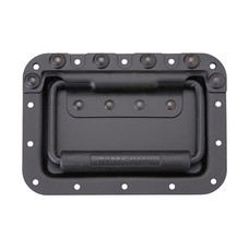 Penn Elcom H7165-10K Groot inbouwhandvat met veer zwart