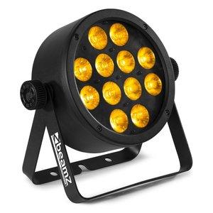 Beamz BAC306 LED-par 12x 12W RGBWA-UV