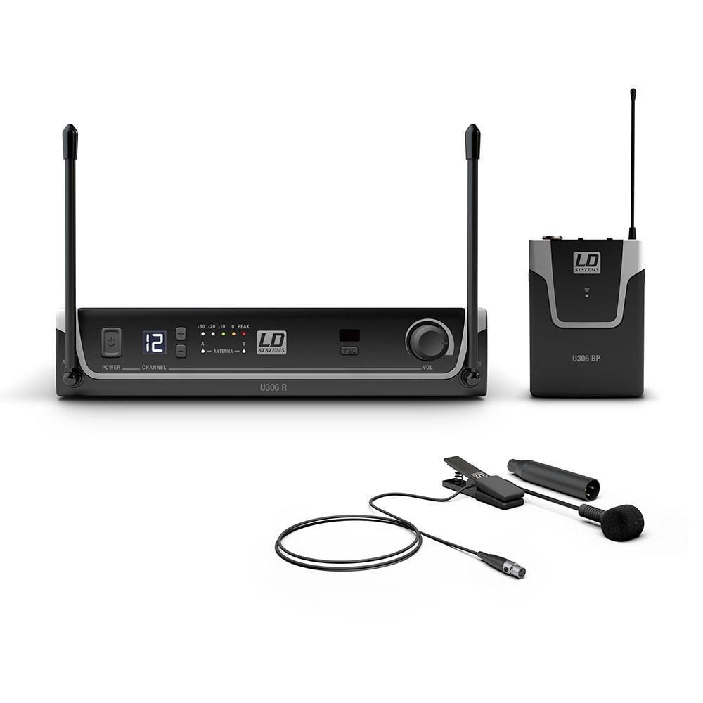 LD Systems U306BPW Draadloze instrumentset met clip-on microfoon