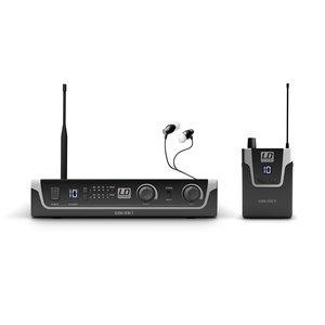 LD Systems U306IEMHP Draadloos in-ear monitor systeem met in-ears