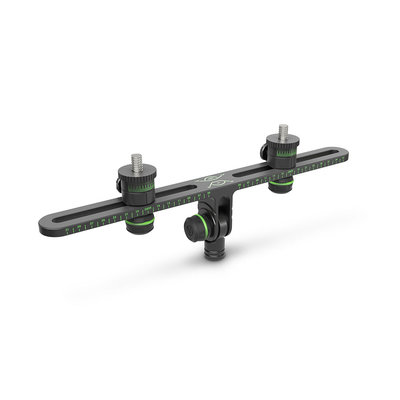Gravity MSSTB01PRO T-bar voor 2 microfoons