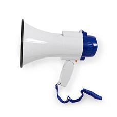 Nedis MEPH150WT megafoon 10W met opname & sirene