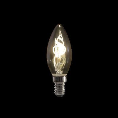 Showtec LED Filament kaarslamp B10 2W warm wit dimbaar