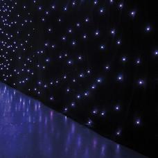 Showtec Star Dream sterrendoek 6x4m witte LEDs