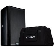 QSC K12.2 actieve luidspreker met tote draagtas