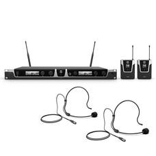 LD Systems U506 BPH2 Dubbel draadloos headset systeem
