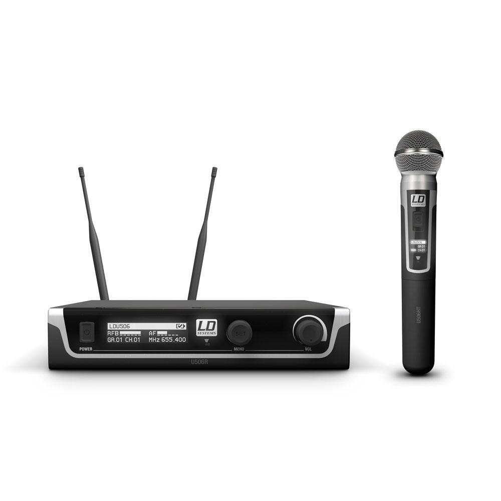 LD Systems U506 HHD Draadloos handheld microfoon systeem