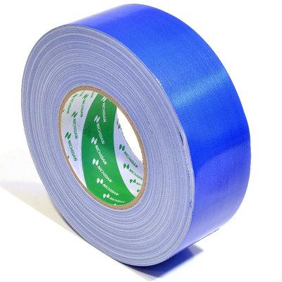 Nichiban Gaffa tape rol 50mm 25m blauw