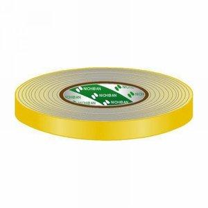 Nichiban Gaffa tape rol 12mm 50m geel