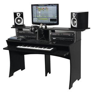 Glorious Workbench Black studiomeubel zwart