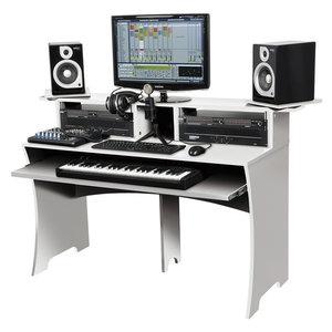 Glorious Workbench White studiomeubel wit