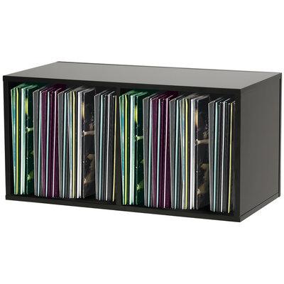 Glorious Record Box 230 platenkast voor vinyl zwart