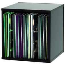 Glorious Record Box 110 platenkast voor vinyl zwart