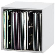 Glorious Record Box 110 platenkast voor vinyl wit