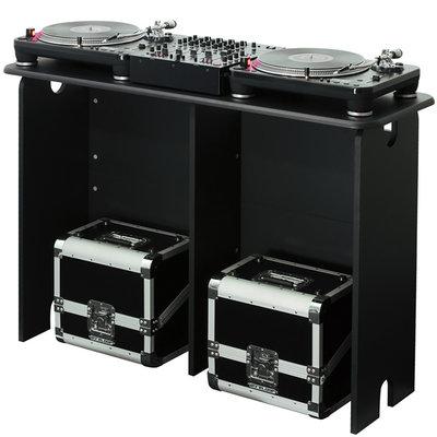 Glorious Mix Station DJ meubel zwart