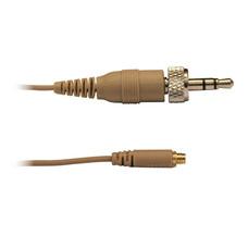 Audac Mini-jack kabel huidskleur voor div. headsets