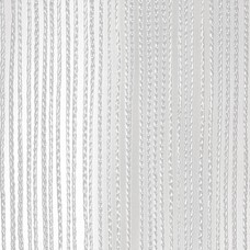 Showtec Pipe and drape spaghetti koordgordijn 300x300cm wit