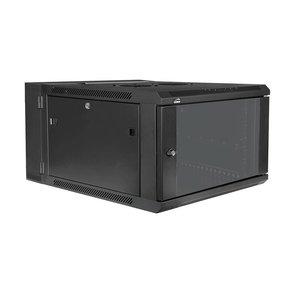 Caymon HPR506/B 19 inch kast incl deur 6 HE