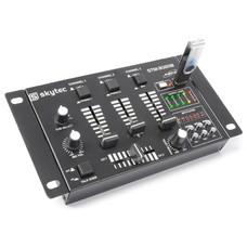 Skytec STM-3020B 6-Kanaals mengpaneel met USB/MP3-speler budget