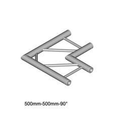 Duratruss DT 32/2-C21H-L90 laddertruss hoek 90° horizontaal