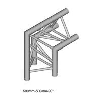 Duratruss DT 33/2-C24-D90 driehoek truss hoek 90° apex out