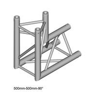 Duratruss DT 33/2-C25-D90 driehoek truss hoek 90° apex in