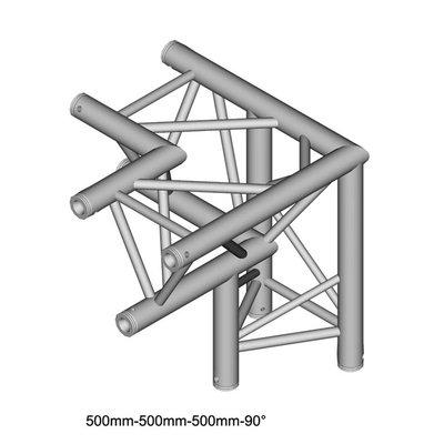 Duratruss DT 33/2-C33-LD driehoek truss hoek 90° apex down + links omlaag