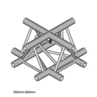 Duratruss DT 33/2-C41-X driehoek truss kruis
