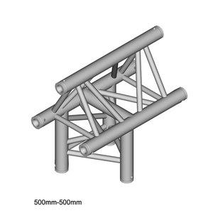Duratruss DT 33/2-T37-T driehoek truss T-stuk apex up