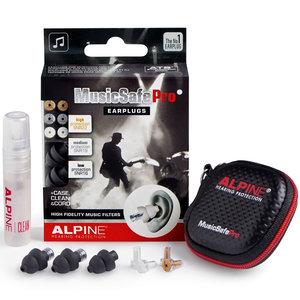 Alpine MusicSafe Pro gehoorbescherming oordoppen zwart