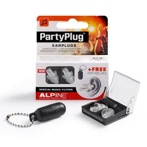 Alpine PartyPlug gehoorbescherming oordoppen transparant