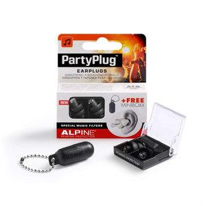 Alpine PartyPlug gehoorbescherming oordoppen zwart