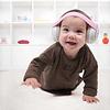 Alpine Muffy Baby gehoorbescherming oorkap zwart