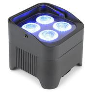 Beamz BBP94 verticale LED par op accu RGBWA+UV
