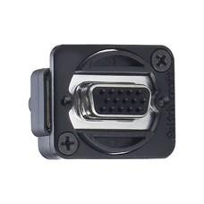 Switchcraft VGA female-female chassisdeel zwart
