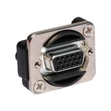 Switchcraft VGA female-female chassisdeel zilver