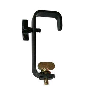 CLF G-haak met quick-lock bevestiging 50mm zwart