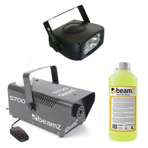 Beamz Flitsende Halloween Pro Rookset met rookmachine, stroboscoop & vloeistof