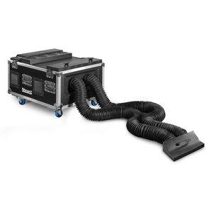 Beamz LF6000 Low Fog DMX rookmachine met dubbele output